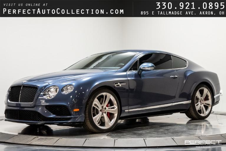 Used 2016 Bentley Continental GT V8 S Mulliner Driving Spec for sale $136,995 at Perfect Auto Collection in Akron OH