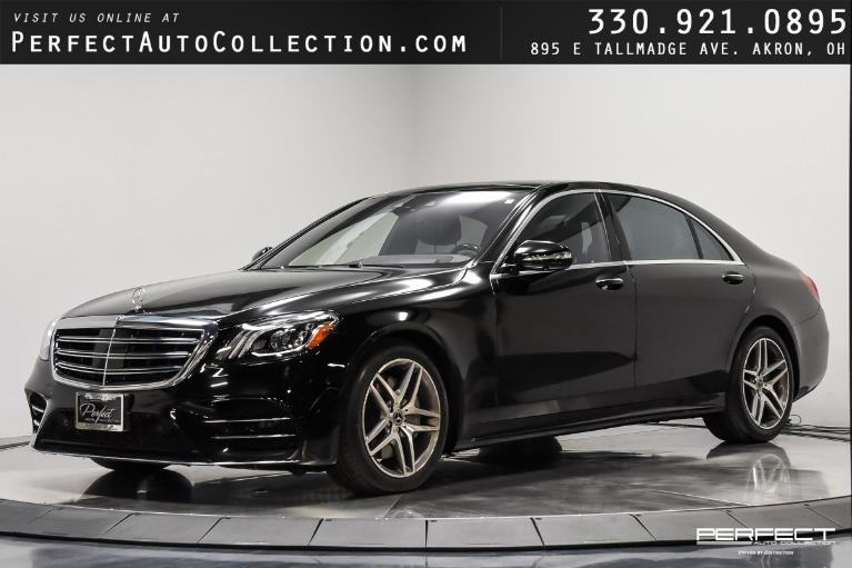 Used 2018 Mercedes-Benz S-Class S 560 4MATIC for sale $76,895 at Perfect Auto Collection in Akron OH