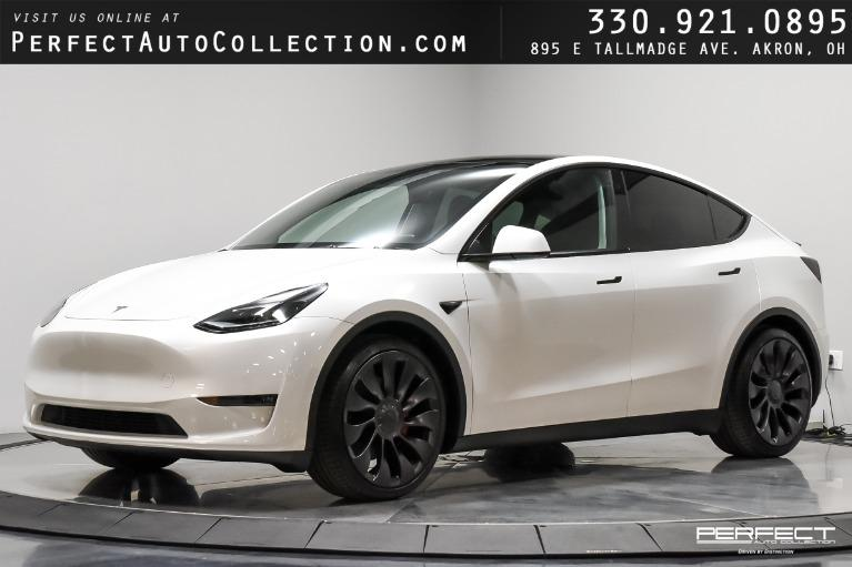 Used 2021 Tesla Model Y Performance for sale $78,895 at Perfect Auto Collection in Akron OH