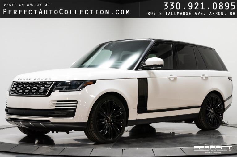 Used 2018 Land Rover Range Rover Supercharged for sale $97,495 at Perfect Auto Collection in Akron OH