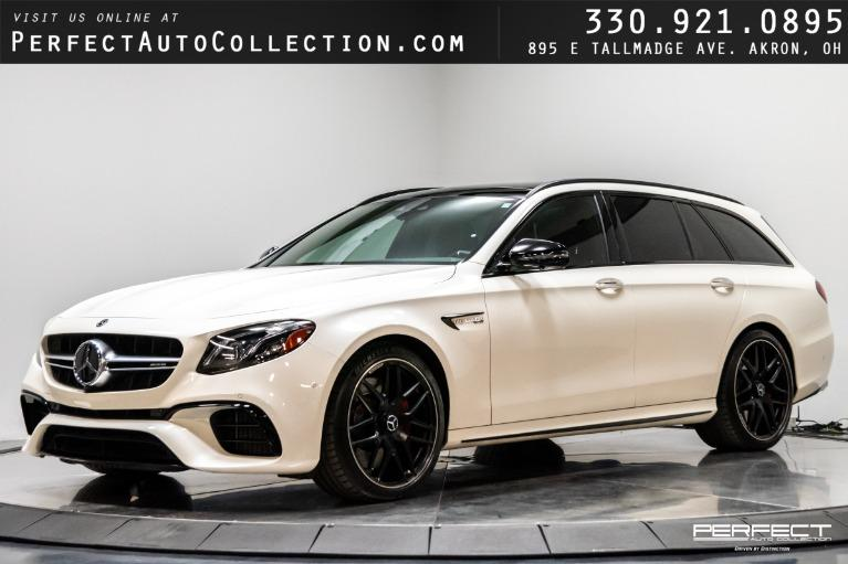 Used 2018 Mercedes-Benz E-Class AMG E 63 S for sale $98,795 at Perfect Auto Collection in Akron OH