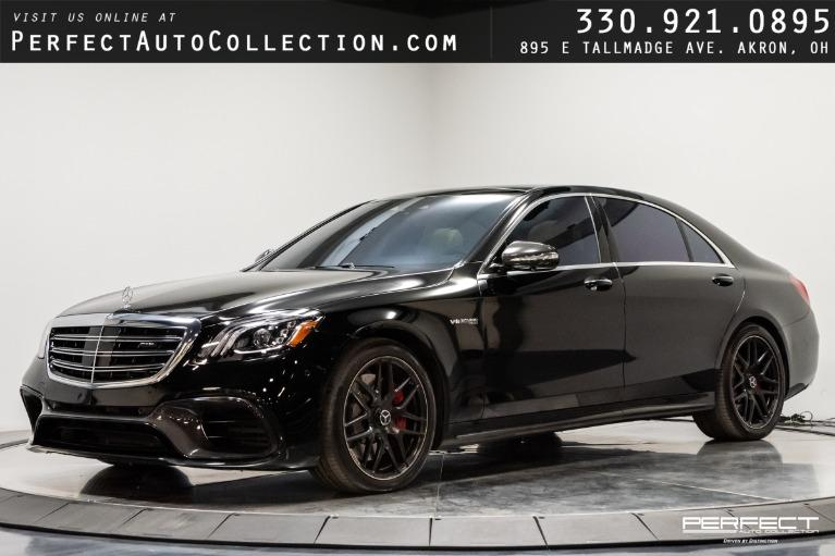 Used 2018 Mercedes-Benz S-Class AMG S 63 for sale $127,495 at Perfect Auto Collection in Akron OH