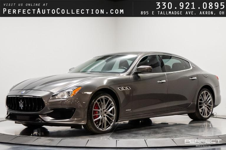 Used 2017 Maserati Quattroporte S Q4 GranSport for sale $59,395 at Perfect Auto Collection in Akron OH