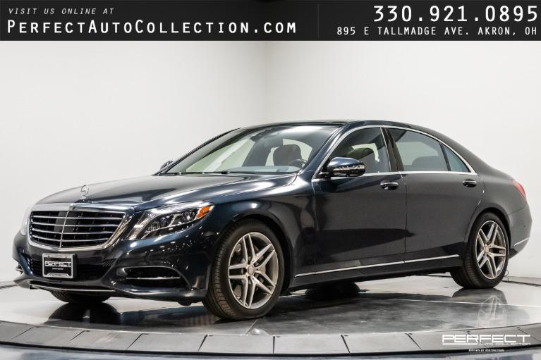 Used 2015 Mercedes-Benz S-Class S 550 4MATIC for sale $54,995 at Perfect Auto Collection in Akron OH