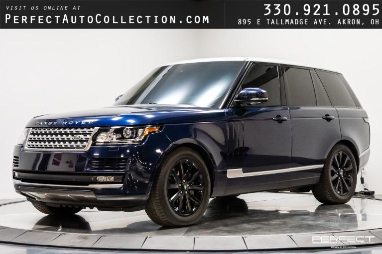Used 2014 Land Rover Range Rover Supercharged for sale $51,995 at Perfect Auto Collection in Akron OH