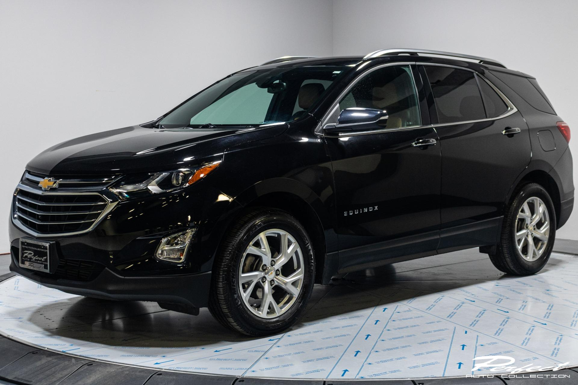Used 2018 Chevrolet Equinox Premier for sale $19,493 at Perfect Auto Collection in Akron OH 44310 1