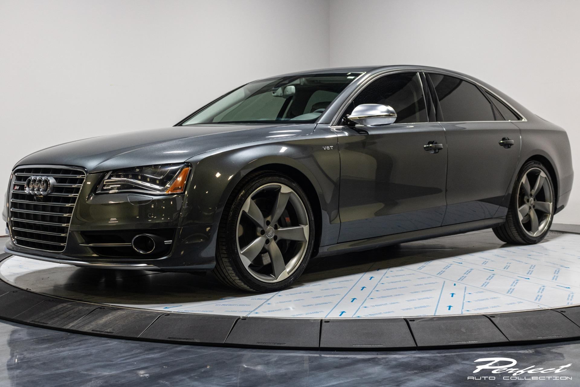 Used 2013 Audi S8 4.0T quattro for sale Sold at Perfect Auto Collection in Akron OH 44310 1