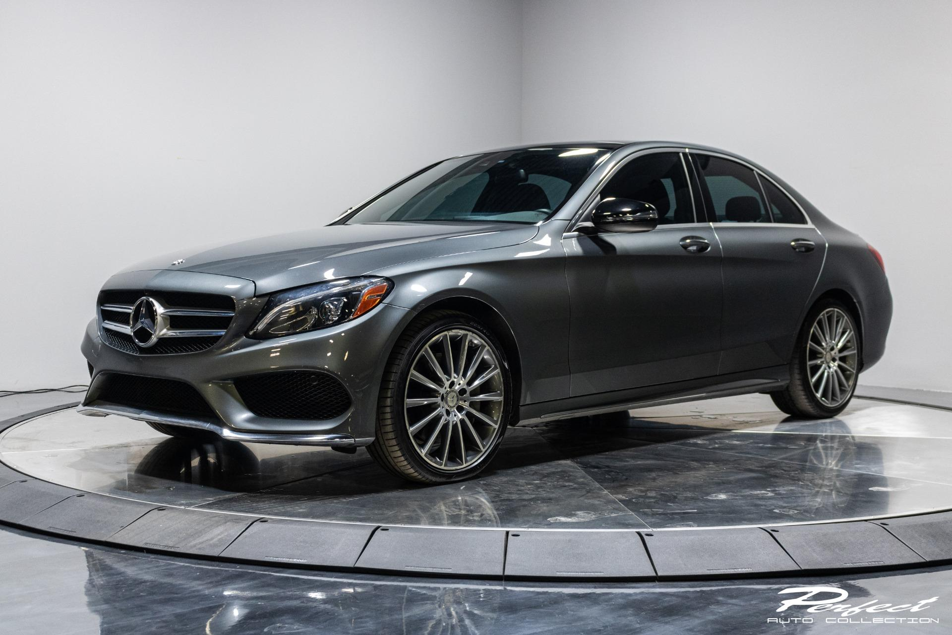Used 2017 Mercedes-Benz C-Class C 300 4MATIC for sale Sold at Perfect Auto Collection in Akron OH 44310 1