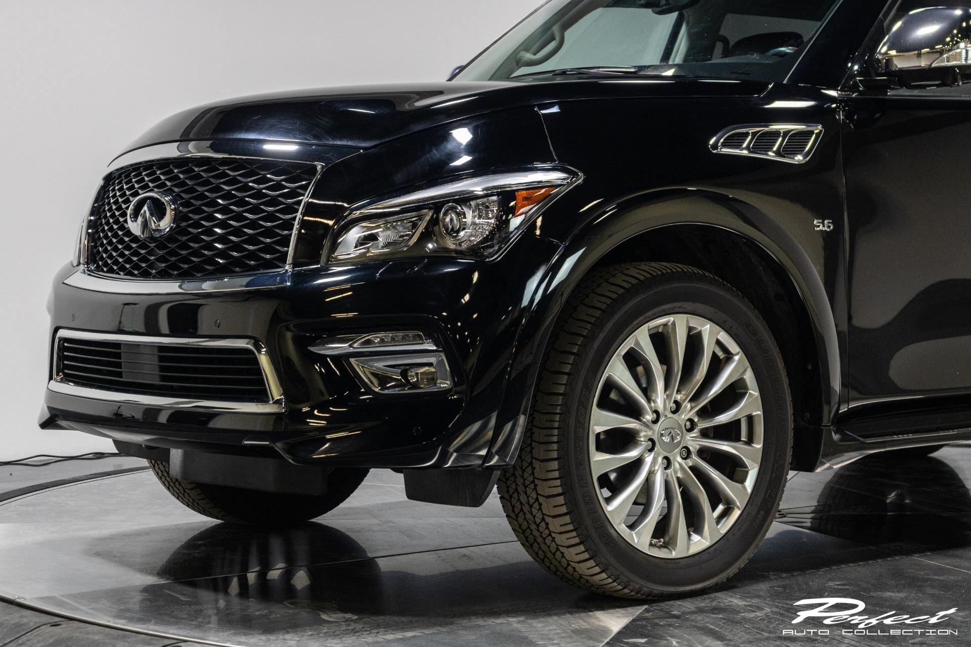Used 2016 INFINITI QX80 for sale Sold at Perfect Auto Collection in Akron OH 44310 2