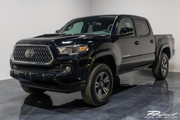 Used 2019 Toyota Tacoma Double Cab TRD Sport Pickup 4D 5 ft