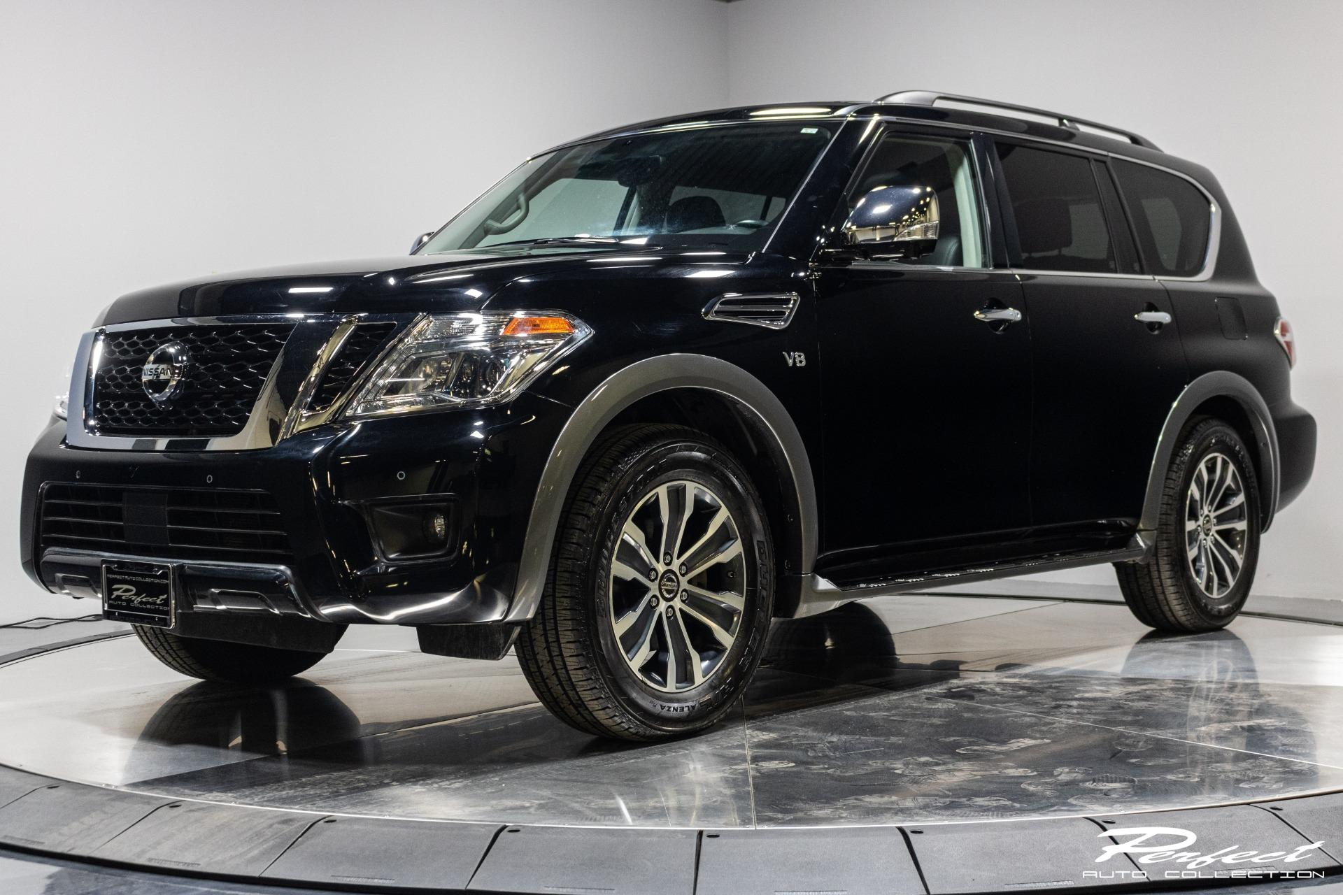 Used 2019 Nissan Armada SL for sale Sold at Perfect Auto Collection in Akron OH 44310 1