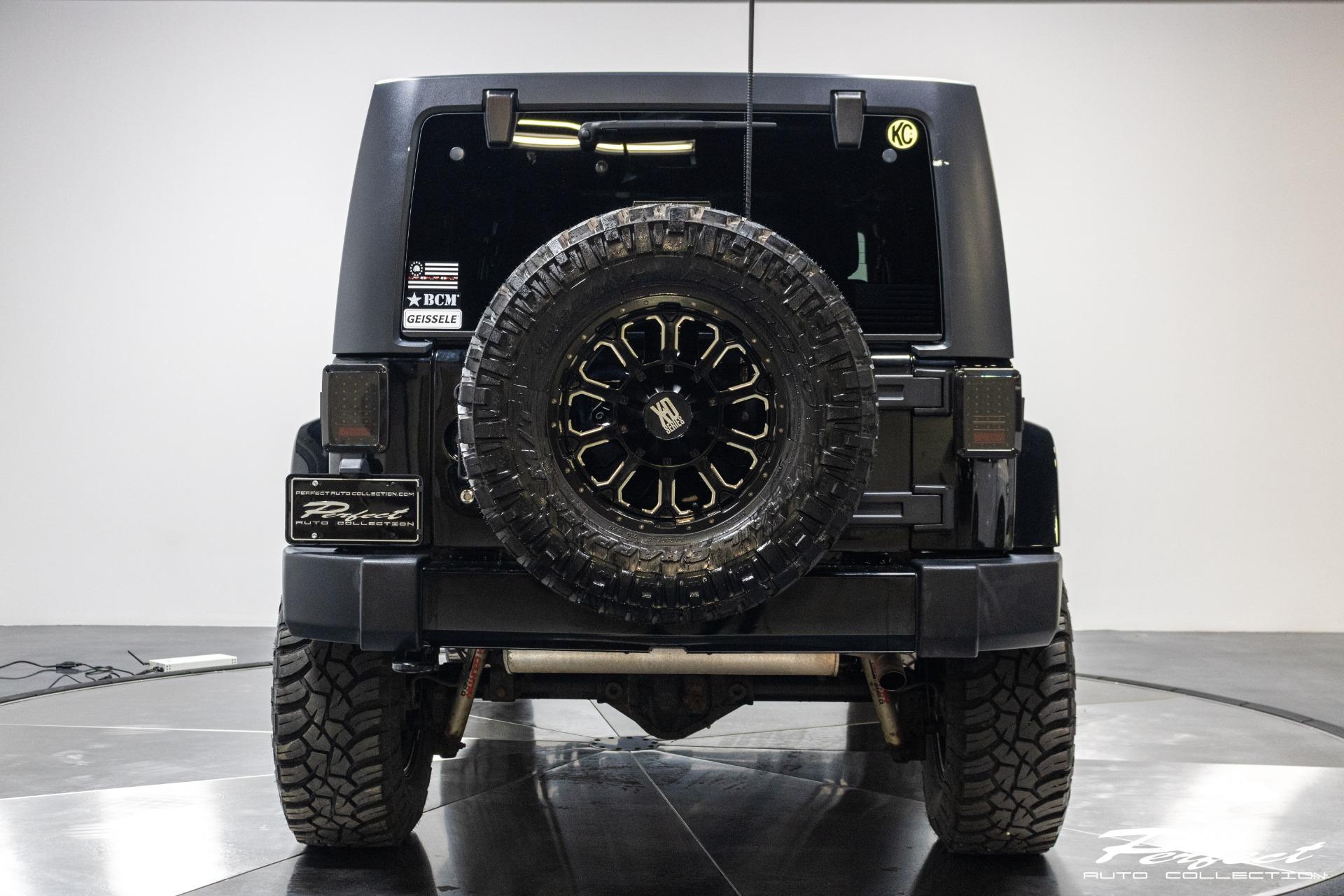 Used 2014 Jeep Wrangler Unlimited Sahara