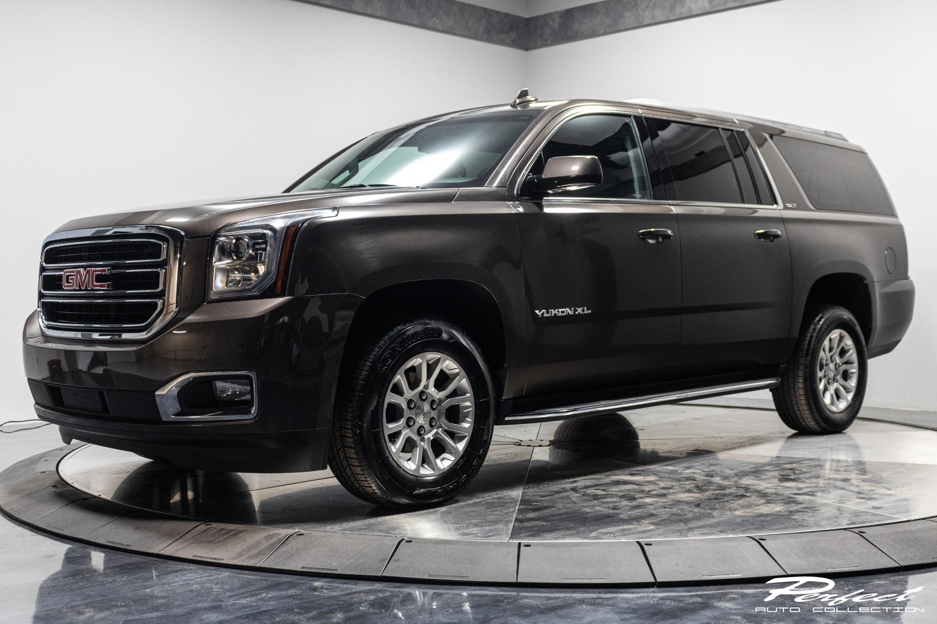 Used 2019 GMC Yukon XL SLT 1500 for sale Sold at Perfect Auto Collection in Akron OH 44310 1