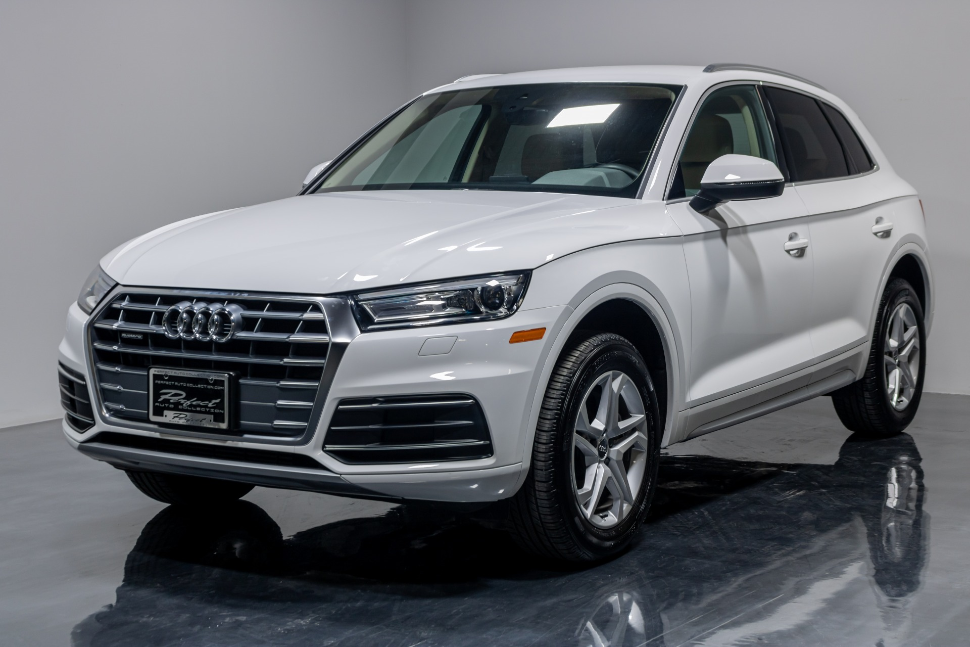 Used 2019 Audi Q5 Premium Sport Utility 4D for sale Sold at Perfect Auto Collection in Akron OH 44310 1