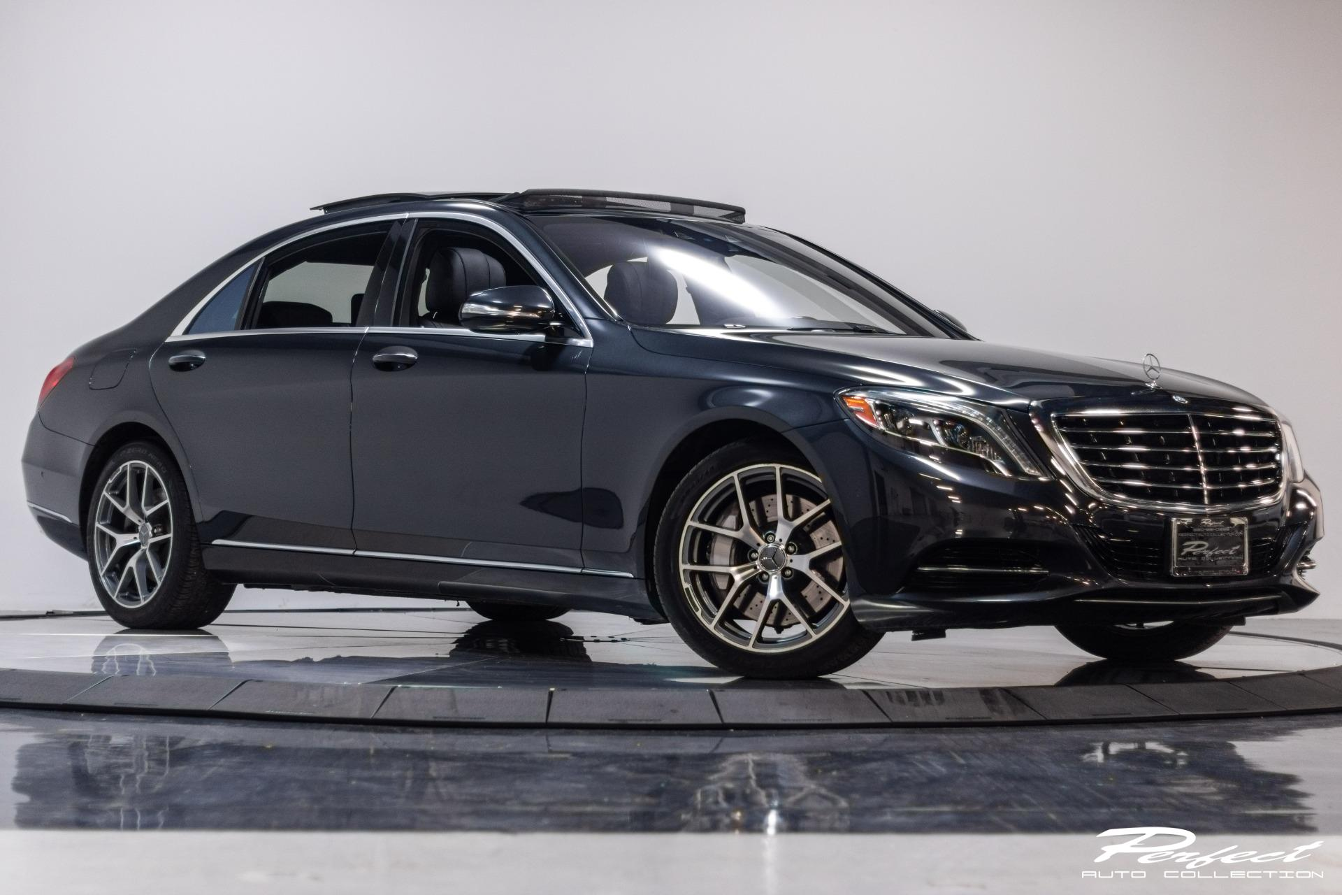 Used 2014 Mercedes Benz S Class S 550 4MATIC