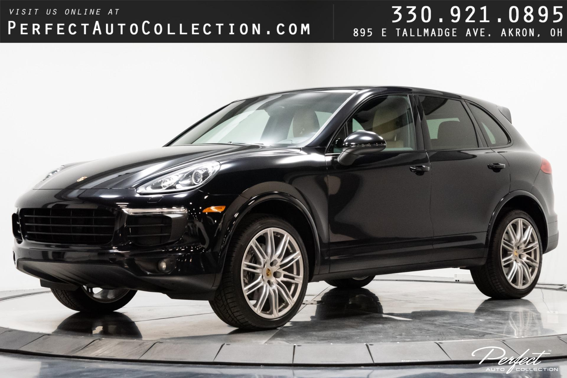 Used 2017 Porsche Cayenne for sale Sold at Perfect Auto Collection in Akron OH 44310 1