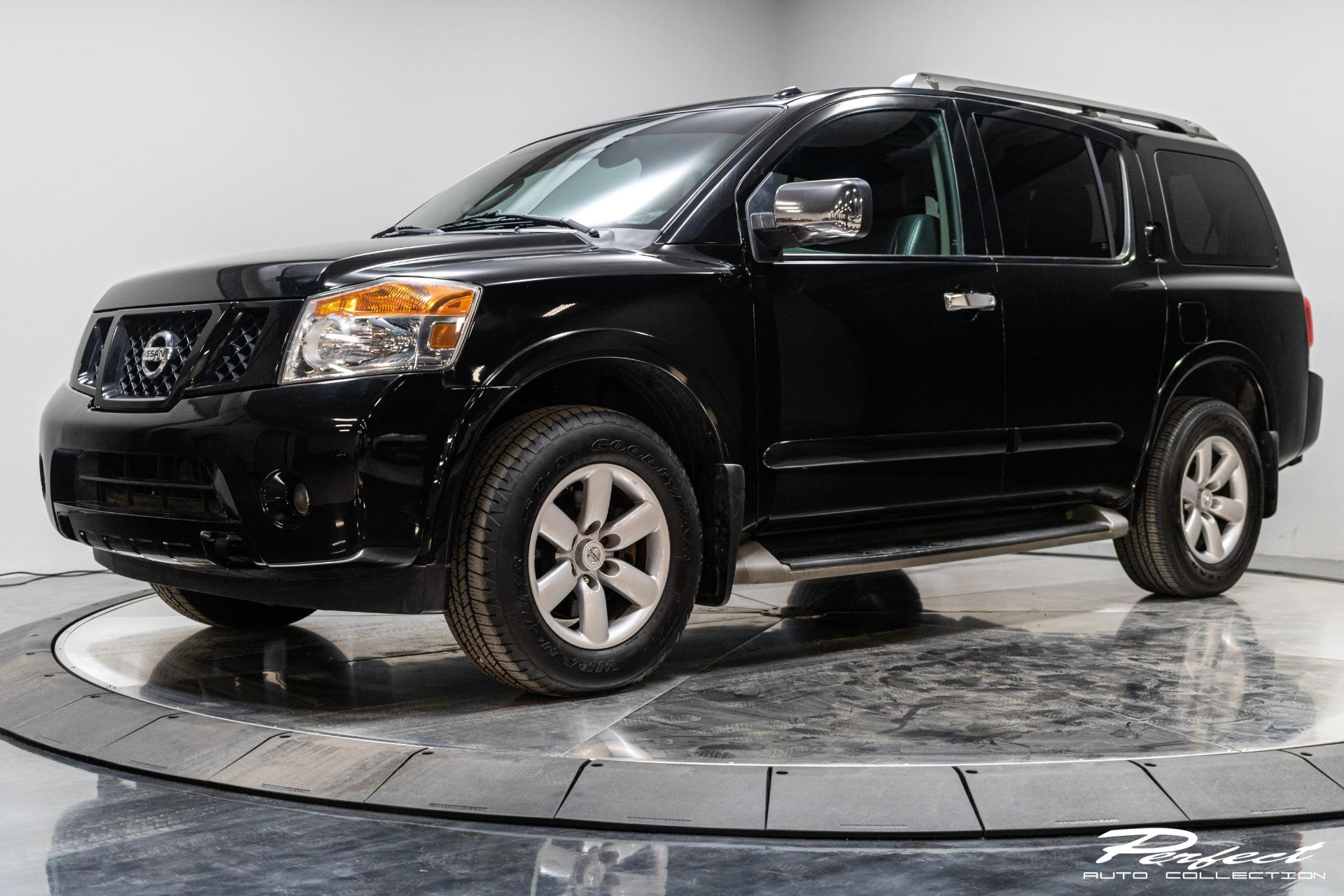 Used 2012 Nissan Armada Platinum for sale Sold at Perfect Auto Collection in Akron OH 44310 1