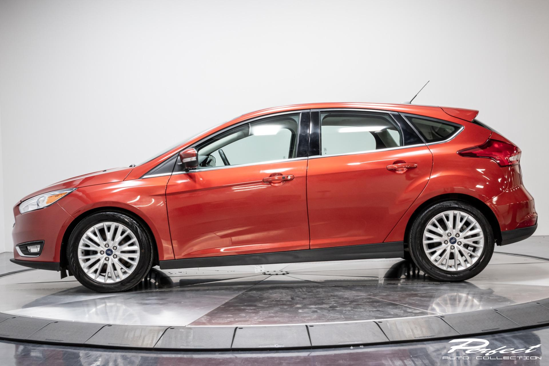 Used 2018 Ford Focus Titanium