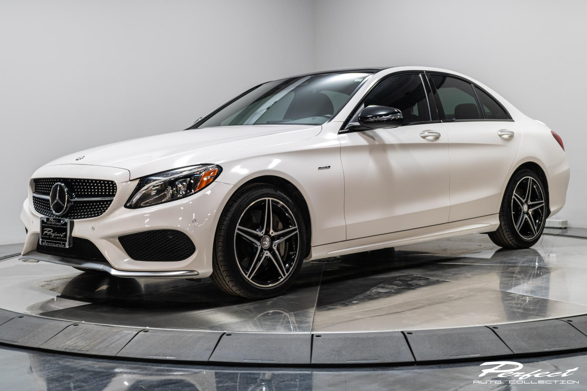 Used 2016 Mercedes-Benz C-Class C 450 AMG for sale Sold at Perfect Auto Collection in Akron OH 44310 1