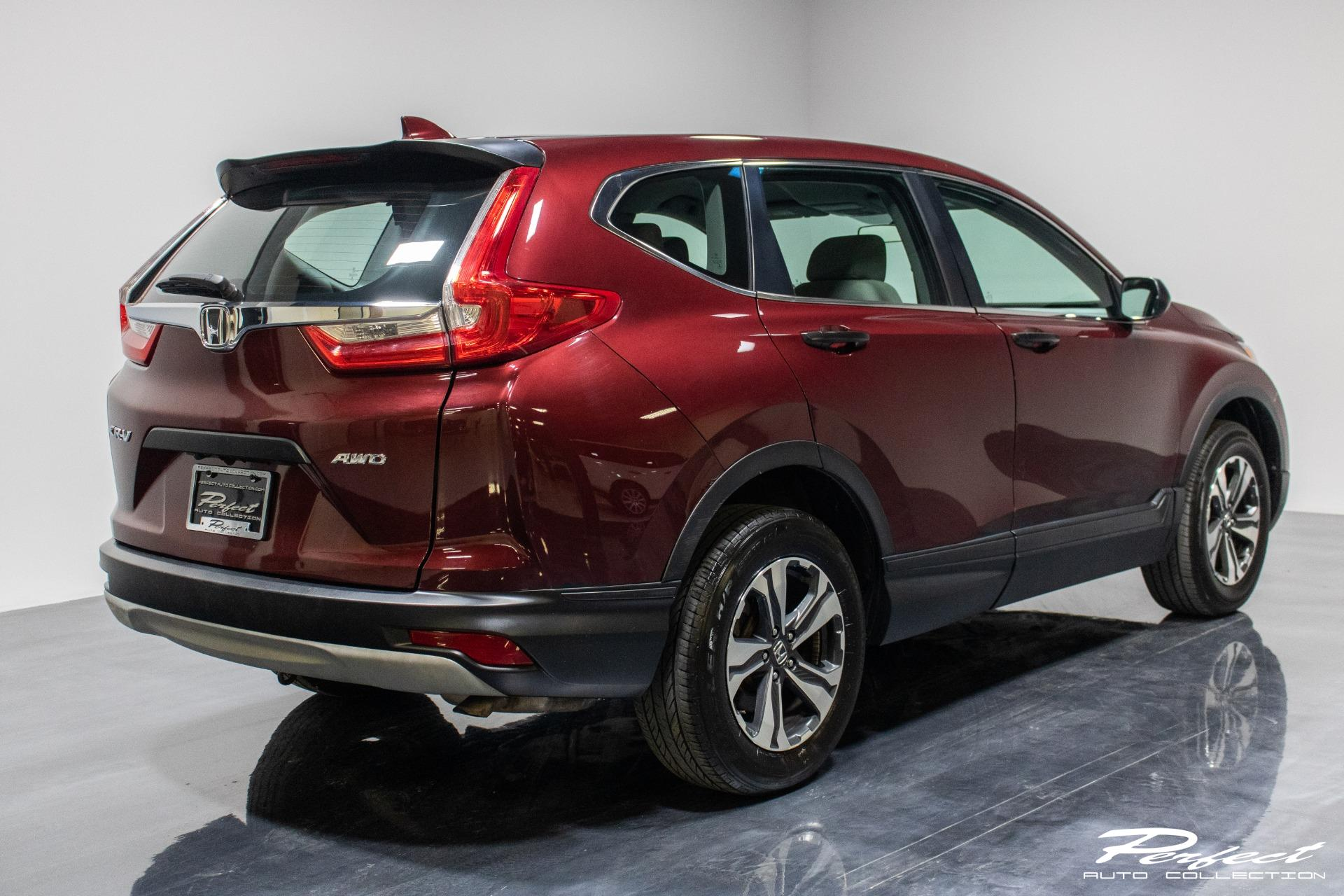 Used 2018 Honda CR-V LX Sport Utility 4D for sale Sold at Perfect Auto Collection in Akron OH 44310 4