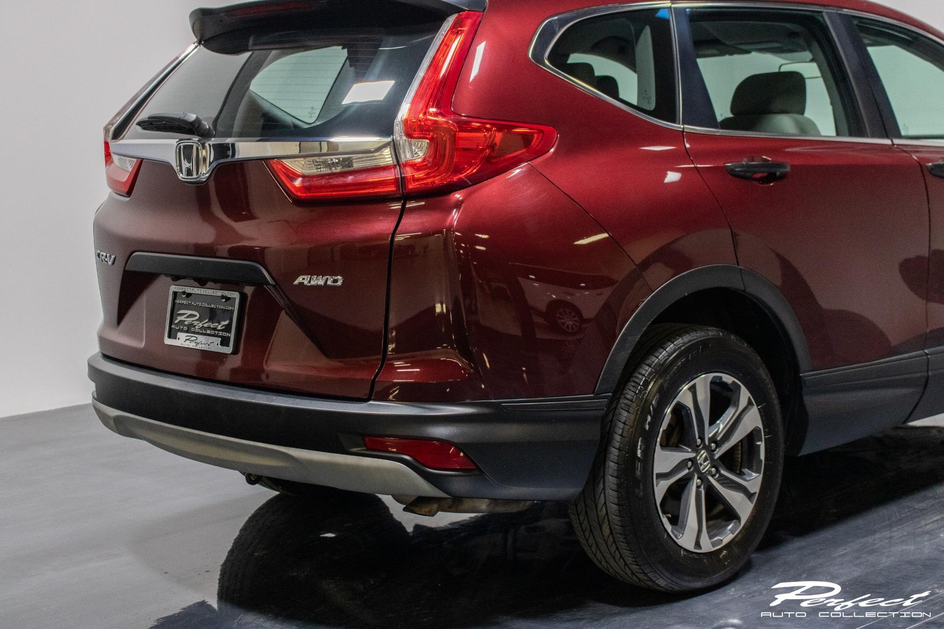 Used 2018 Honda CR V LX Sport Utility 4D