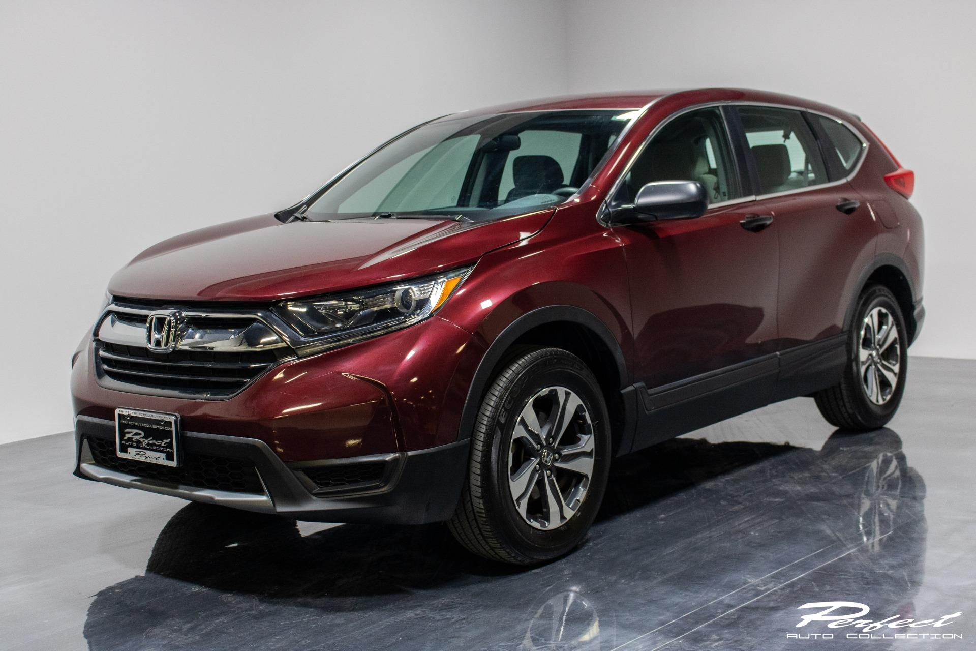 Used 2018 Honda CR-V LX Sport Utility 4D for sale Sold at Perfect Auto Collection in Akron OH 44310 1