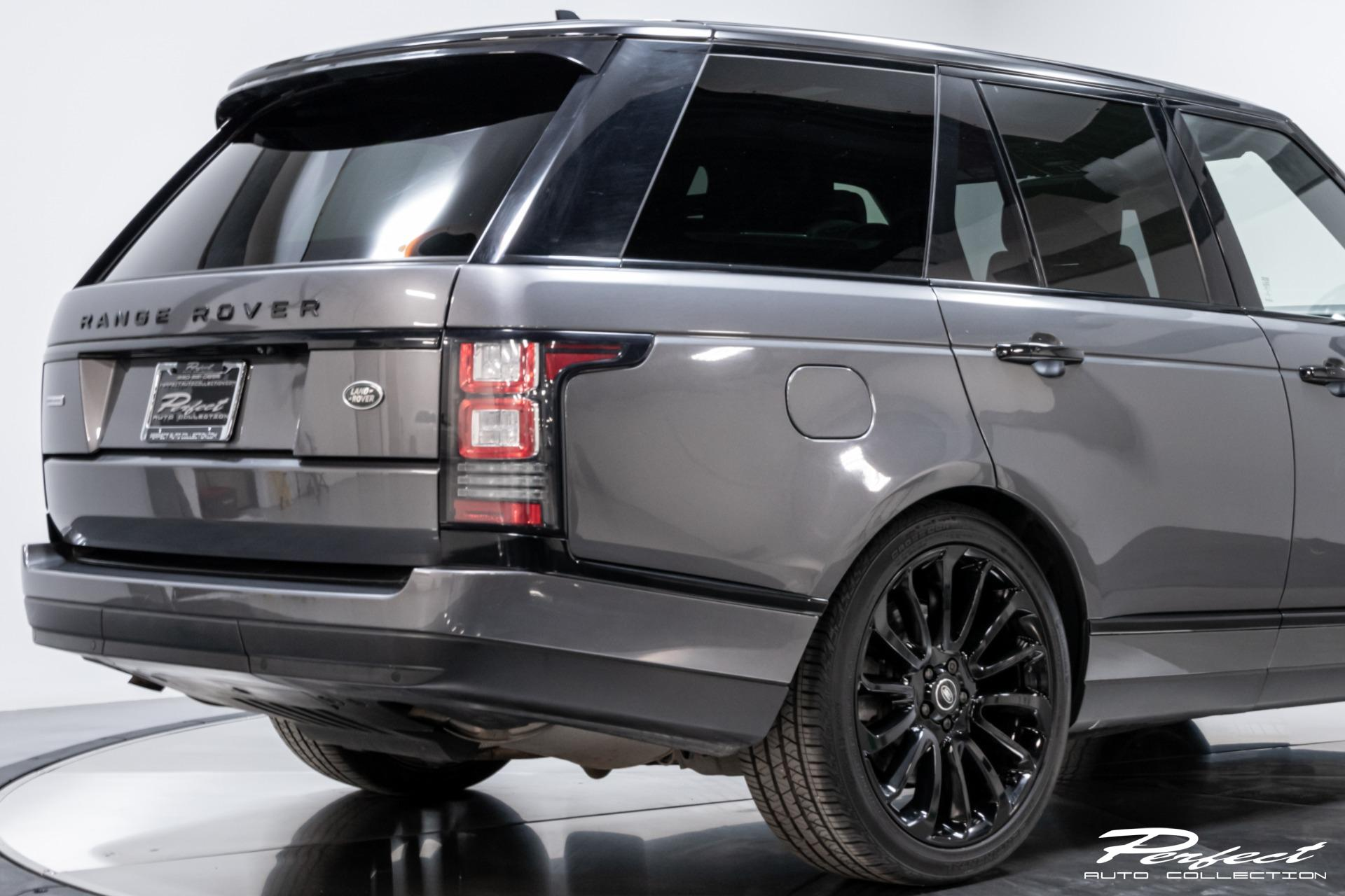 Used 2016 Land Rover Range Rover Supercharged Limited Edition