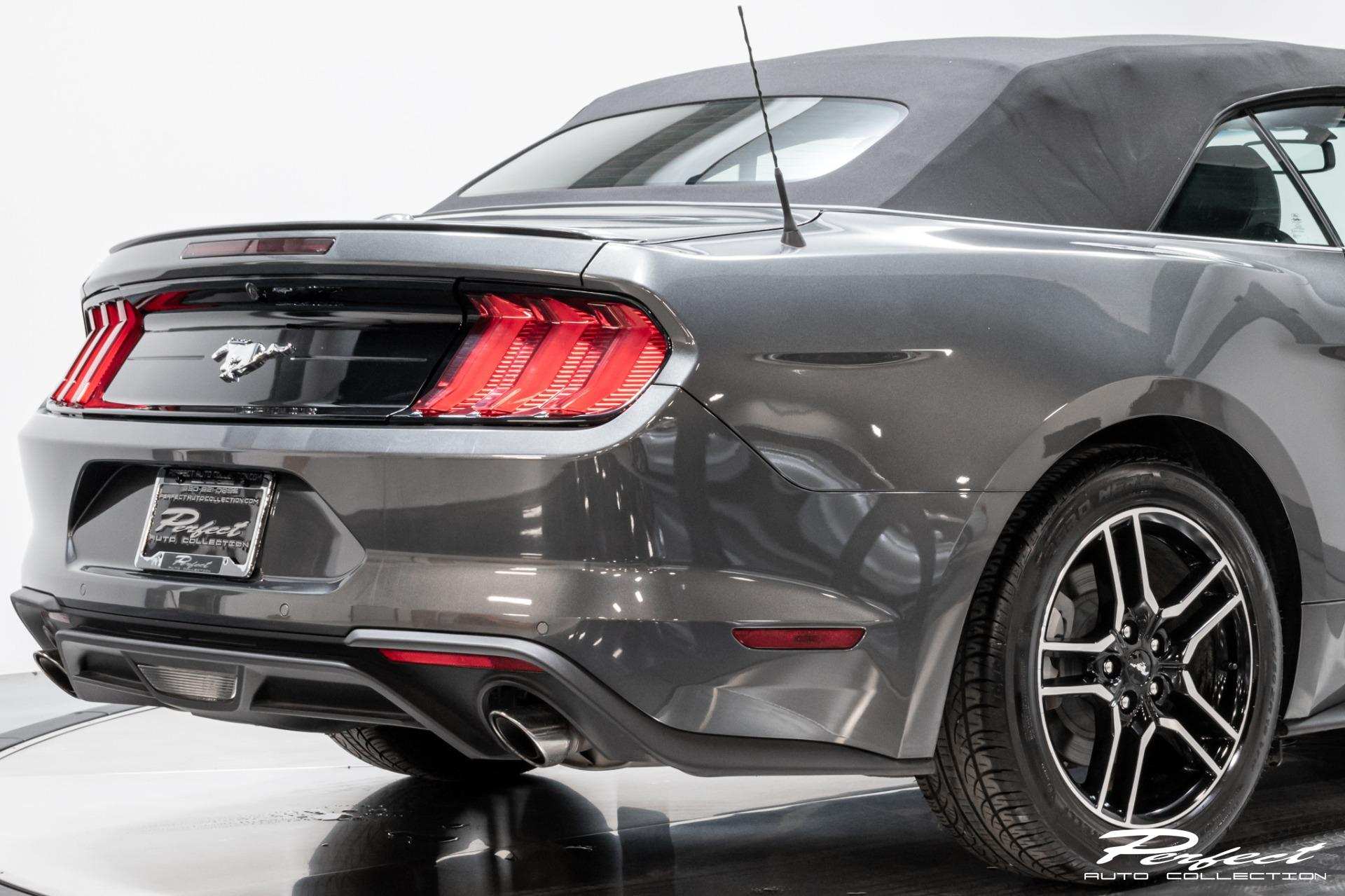 Used 2020 Ford Mustang EcoBoost Premium for sale $27,993 at Perfect Auto Collection in Akron OH 44310 4