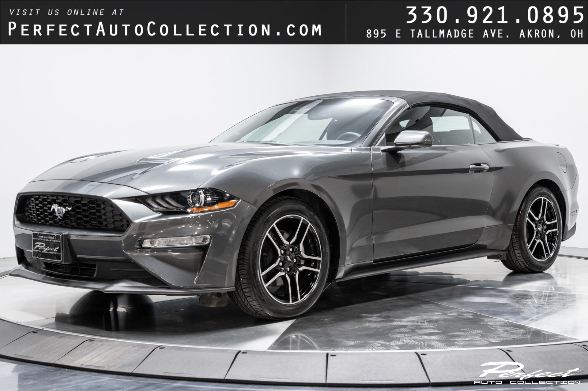 Used 2020 Ford Mustang EcoBoost Premium for sale $27,993 at Perfect Auto Collection in Akron OH 44310 1