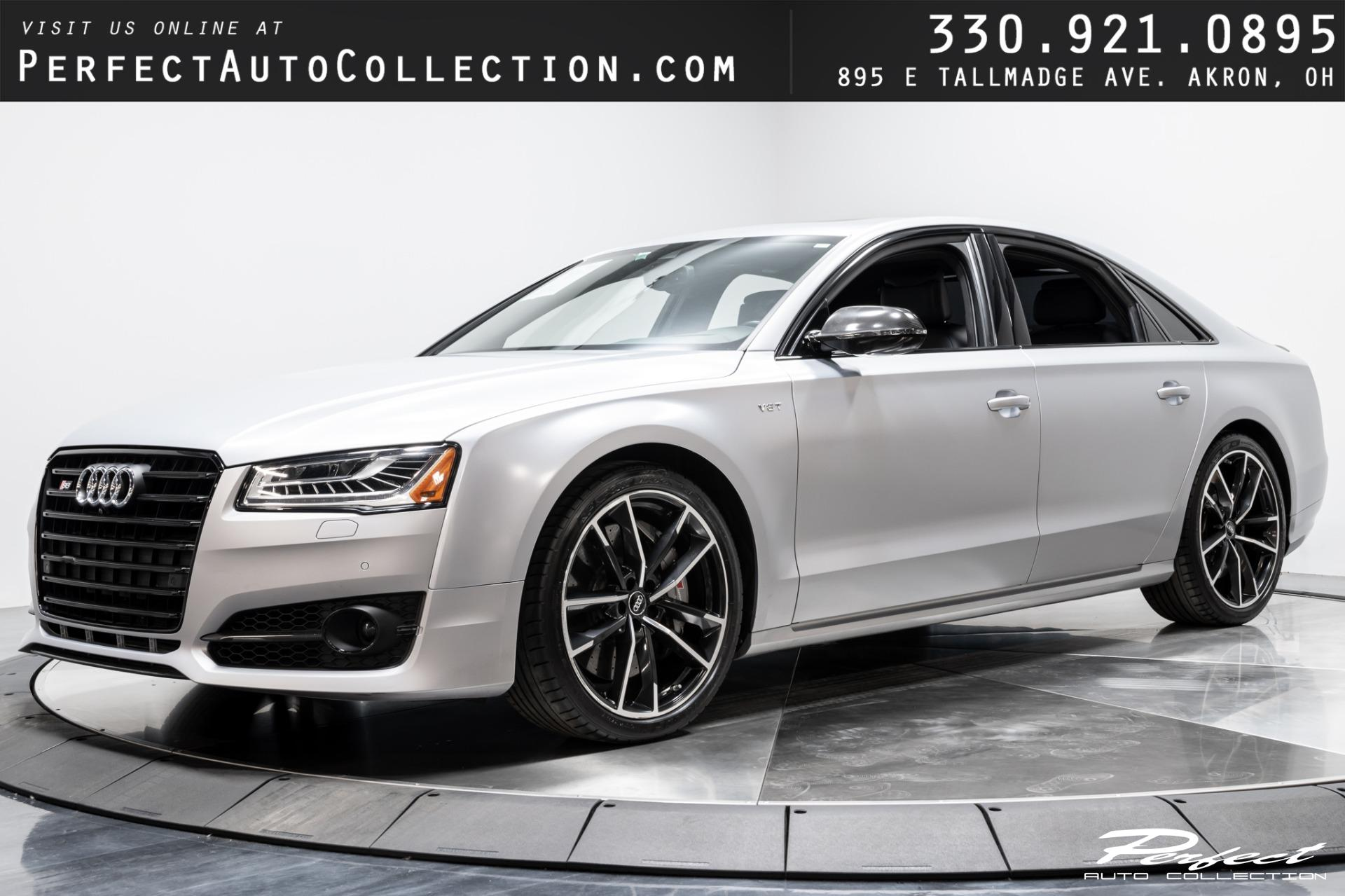 Used 2016 Audi S8 Plus 4.0T Quattro for sale $61,793 at Perfect Auto Collection in Akron OH 44310 1