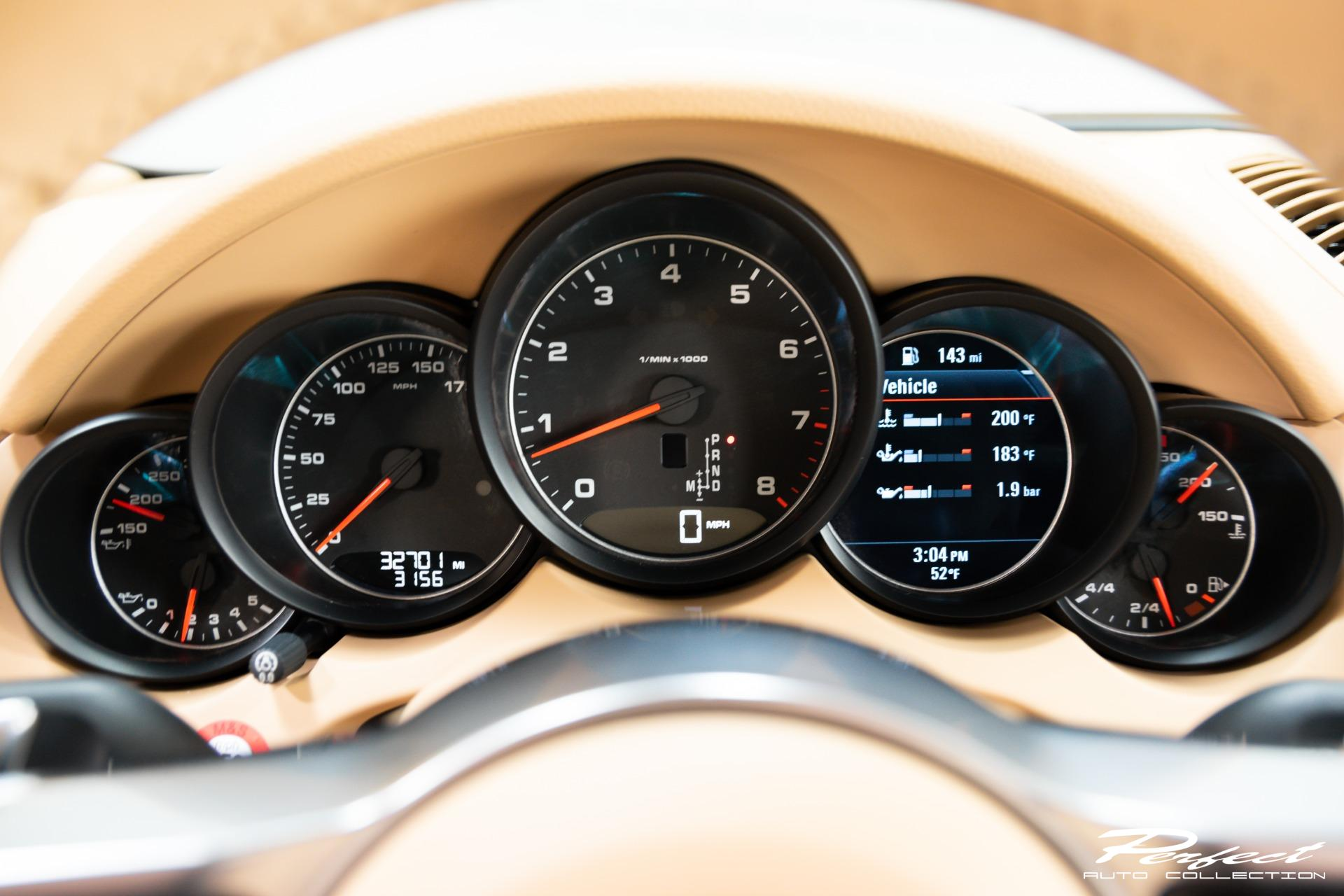 Used 2017 Porsche Cayenne PLATINUM