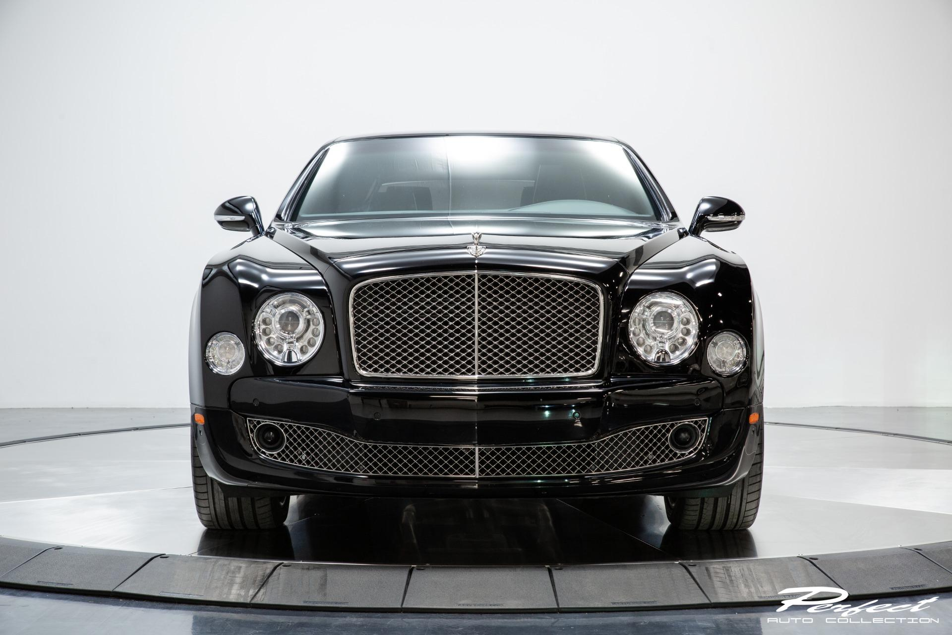Used 2013 Bentley Mulsanne Mulliner Driving Specification