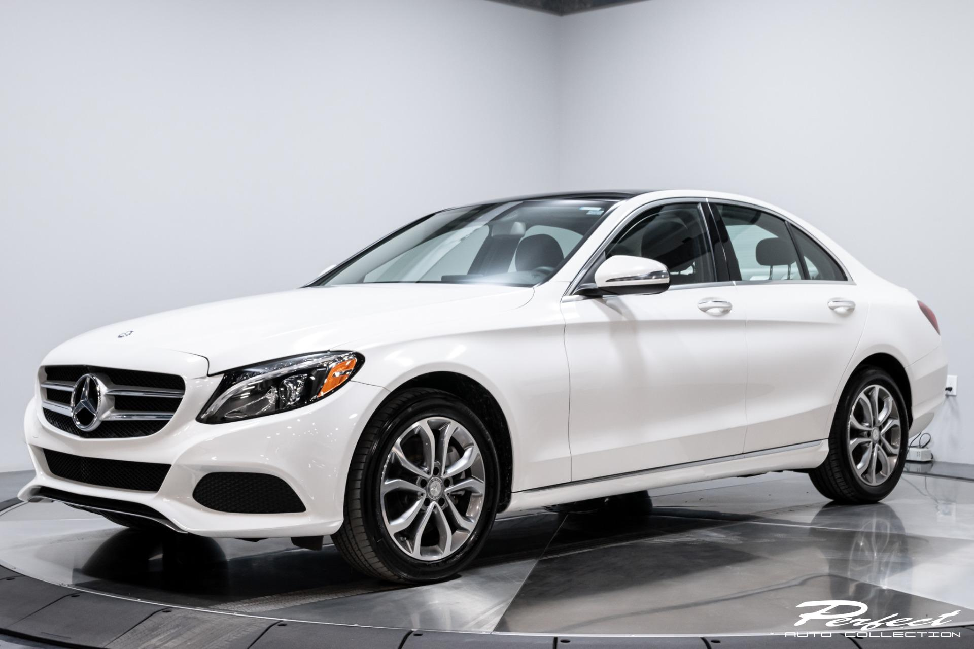 Used 2016 Mercedes-Benz C-Class C 300 4MATIC for sale Sold at Perfect Auto Collection in Akron OH 44310 1