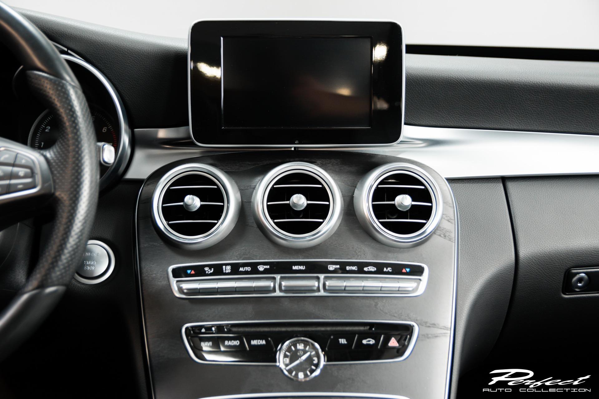 Used 2017 Mercedes Benz C Class C 300 4MATIC