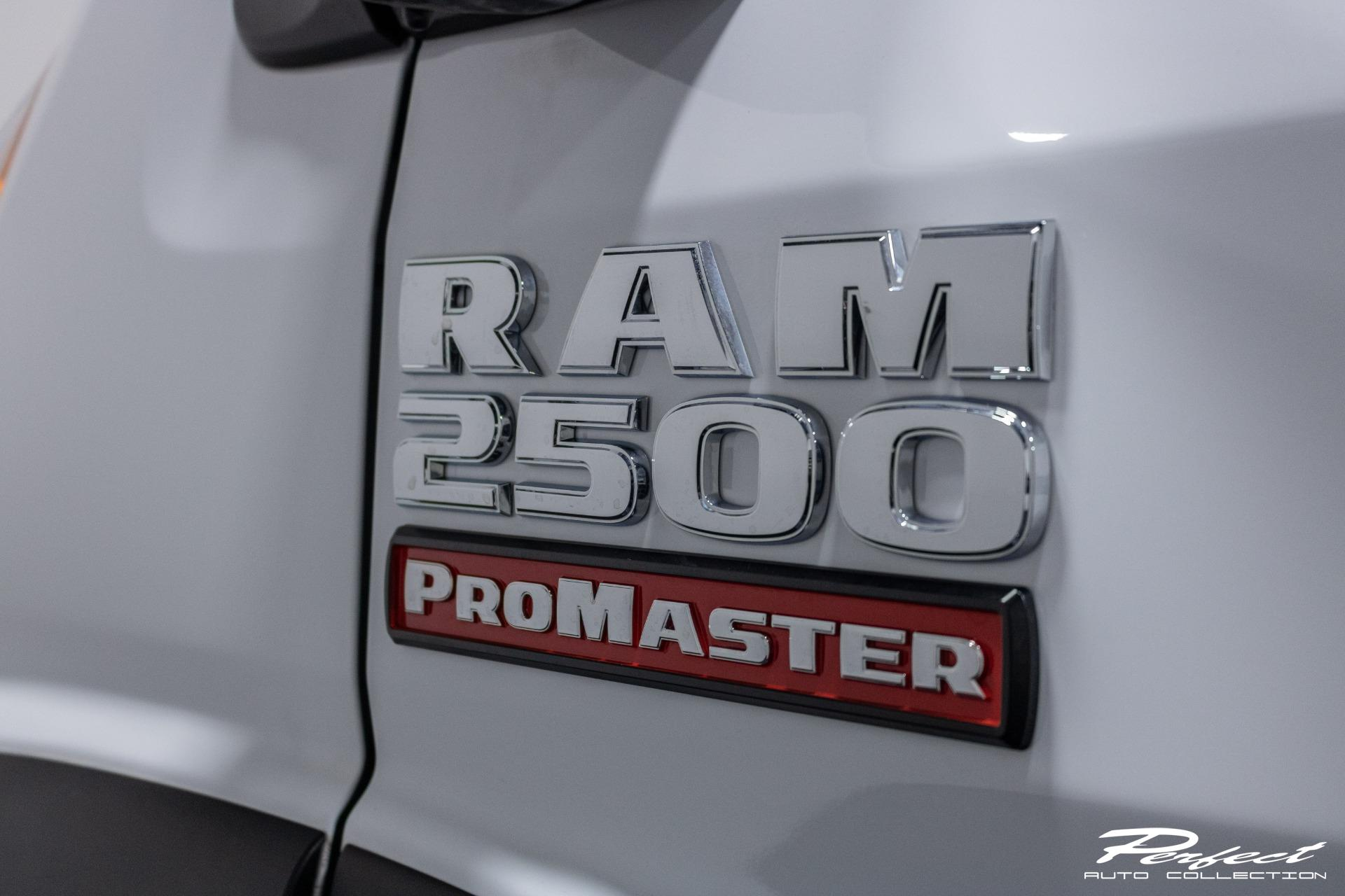 Used 2019 Ram ProMaster Cargo Van 2500 High Roof Van 3D