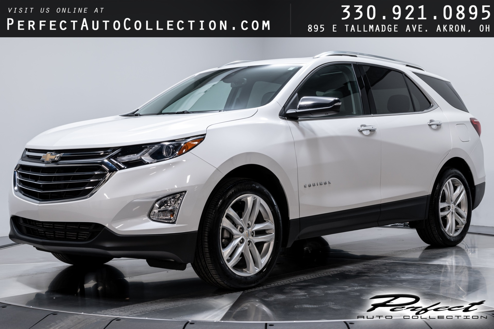Used 2018 Chevrolet Equinox Premier for sale Sold at Perfect Auto Collection in Akron OH 44310 1