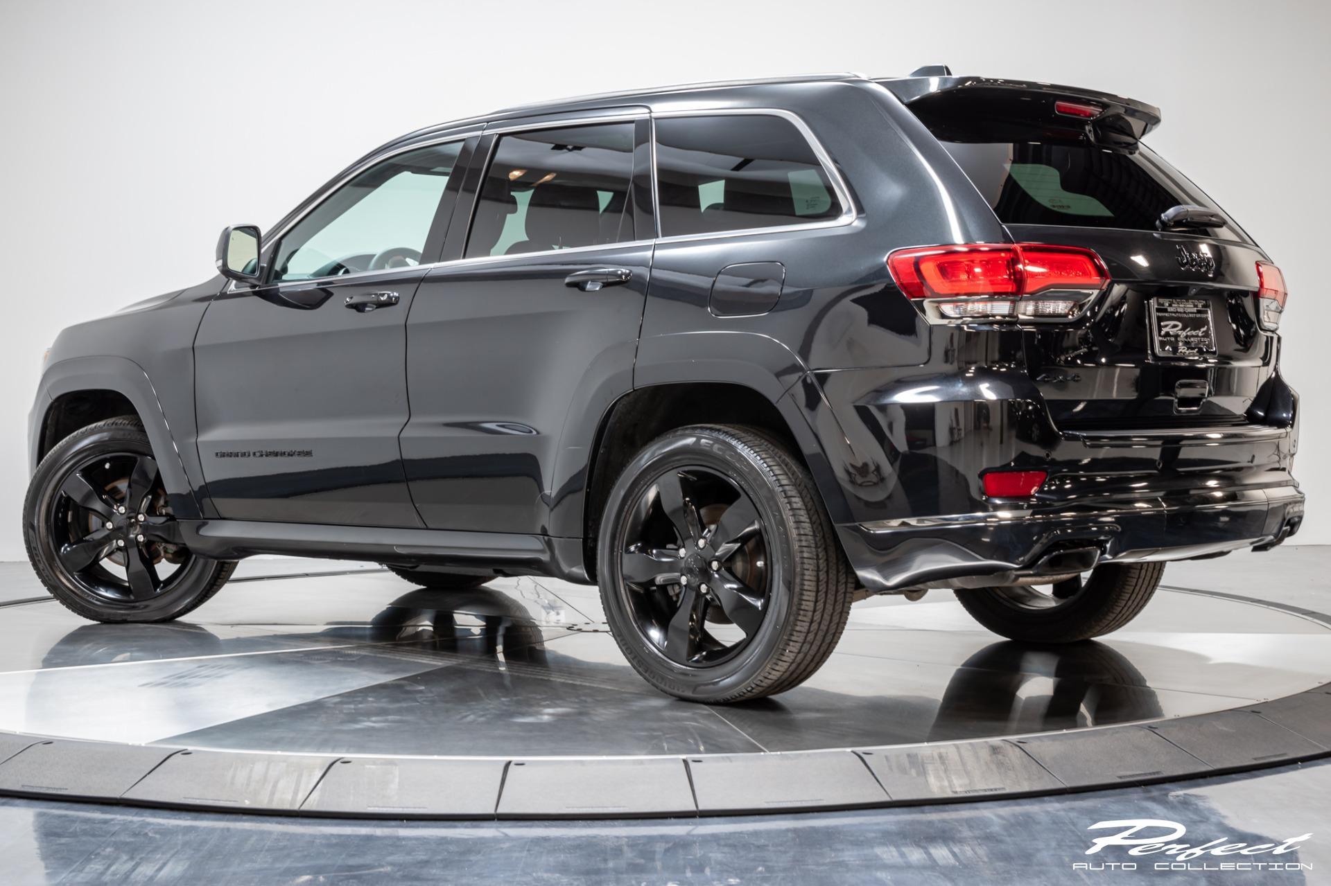 Used 2016 Jeep Grand Cherokee High Altitude