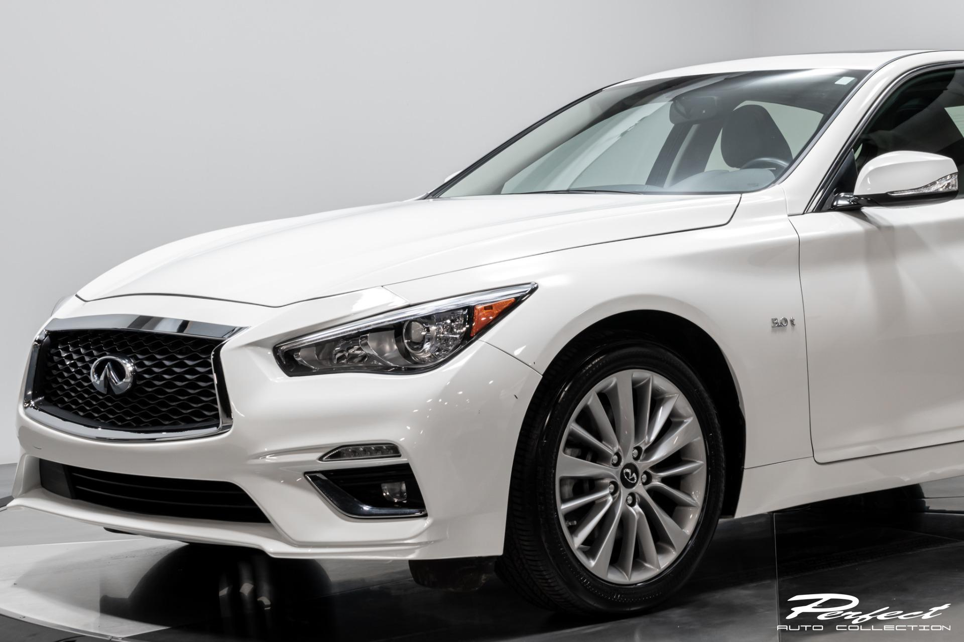 Used 2019 INFINITI Q50 3.0T Luxe For Sale ($24,993 ...