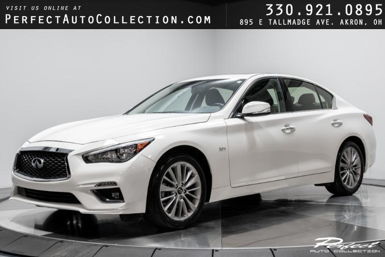 Used 2019 INFINITI Q50 3.0T Luxe for sale Sold at Perfect Auto Collection in Akron OH 44310 1