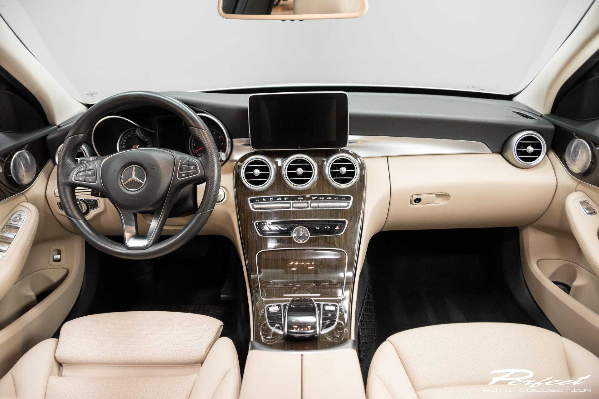 Used 2016 Mercedes Benz C Class C 300 4MATIC