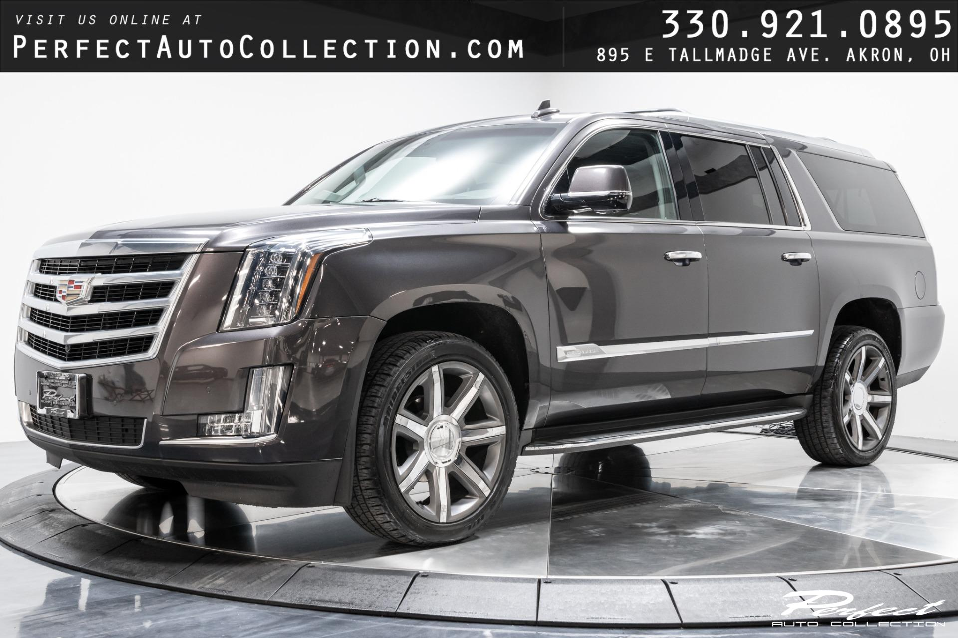 Used 2016 Cadillac Escalade ESV Luxury Collection for sale $41,493 at Perfect Auto Collection in Akron OH 44310 1