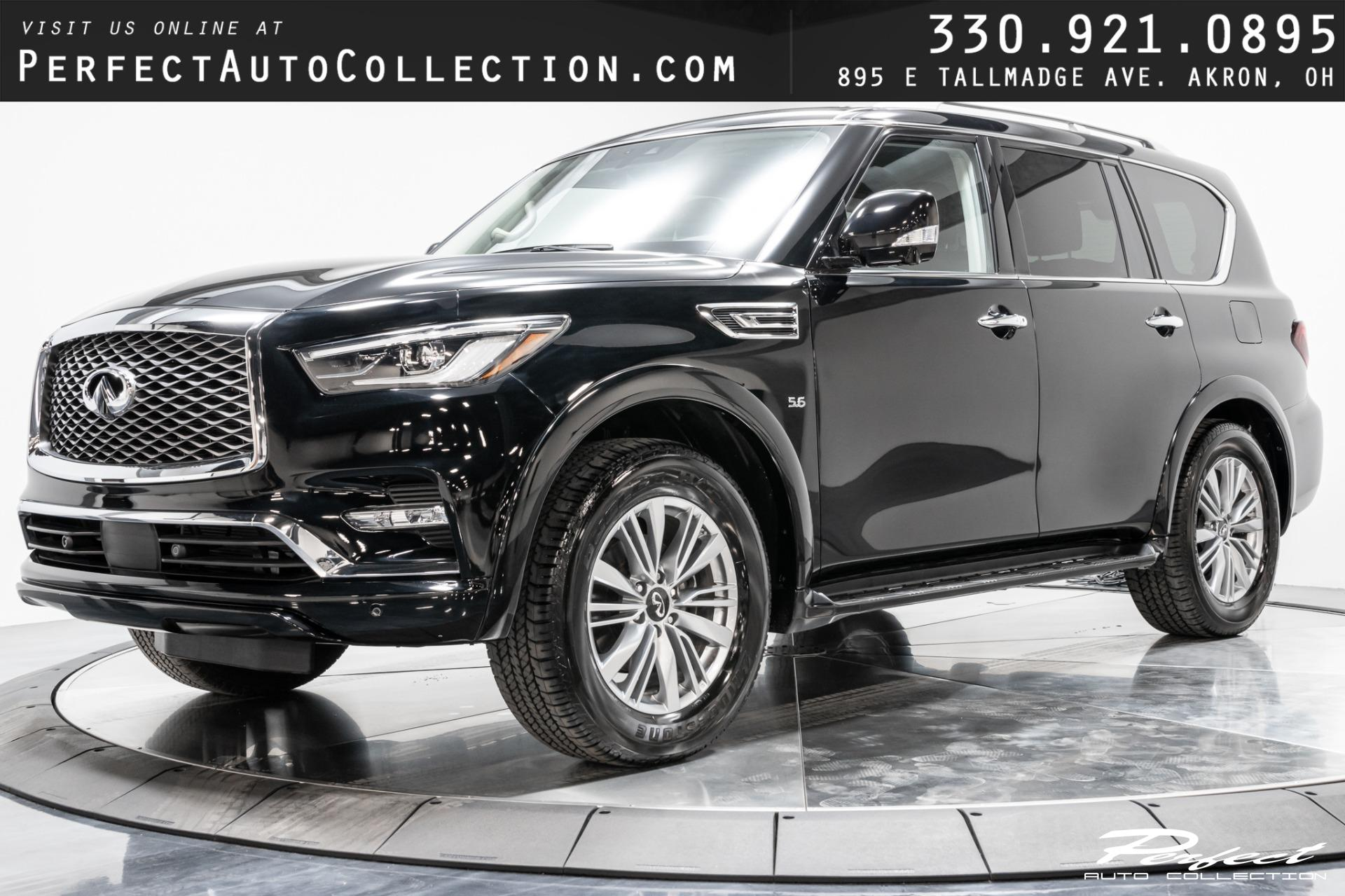 Used 2020 INFINITI QX80 Luxe for sale Sold at Perfect Auto Collection in Akron OH 44310 1