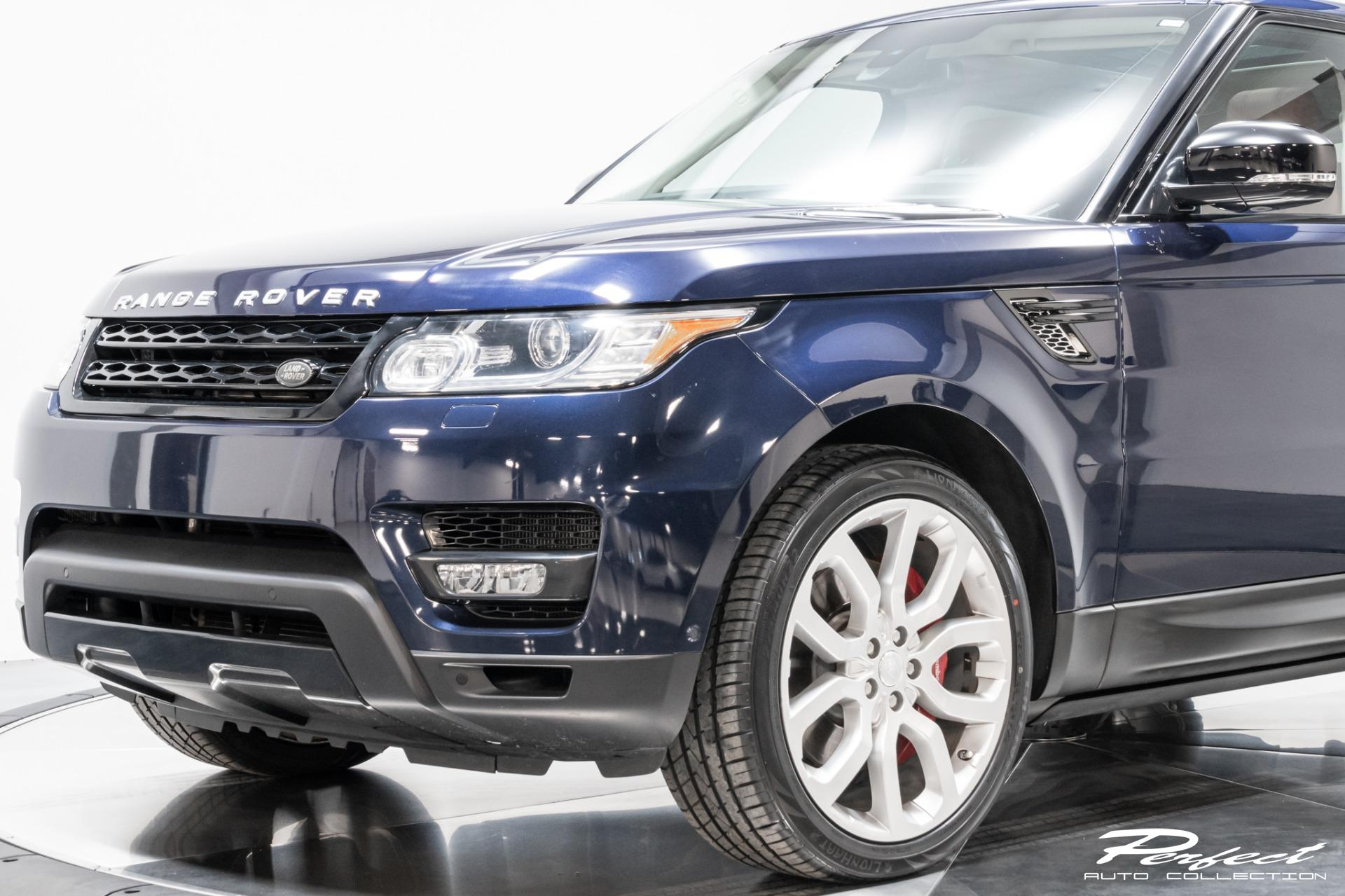 Used 2015 Land Rover Range Rover Sport Supercharged