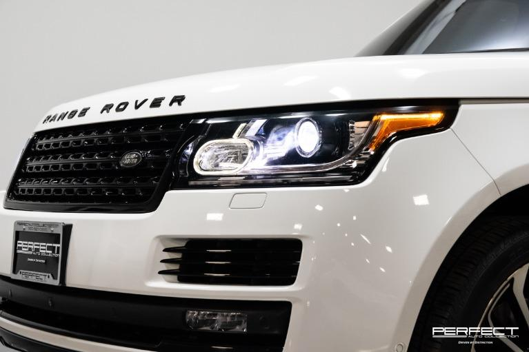Used 2017 Land Rover Range Rover Supercharged