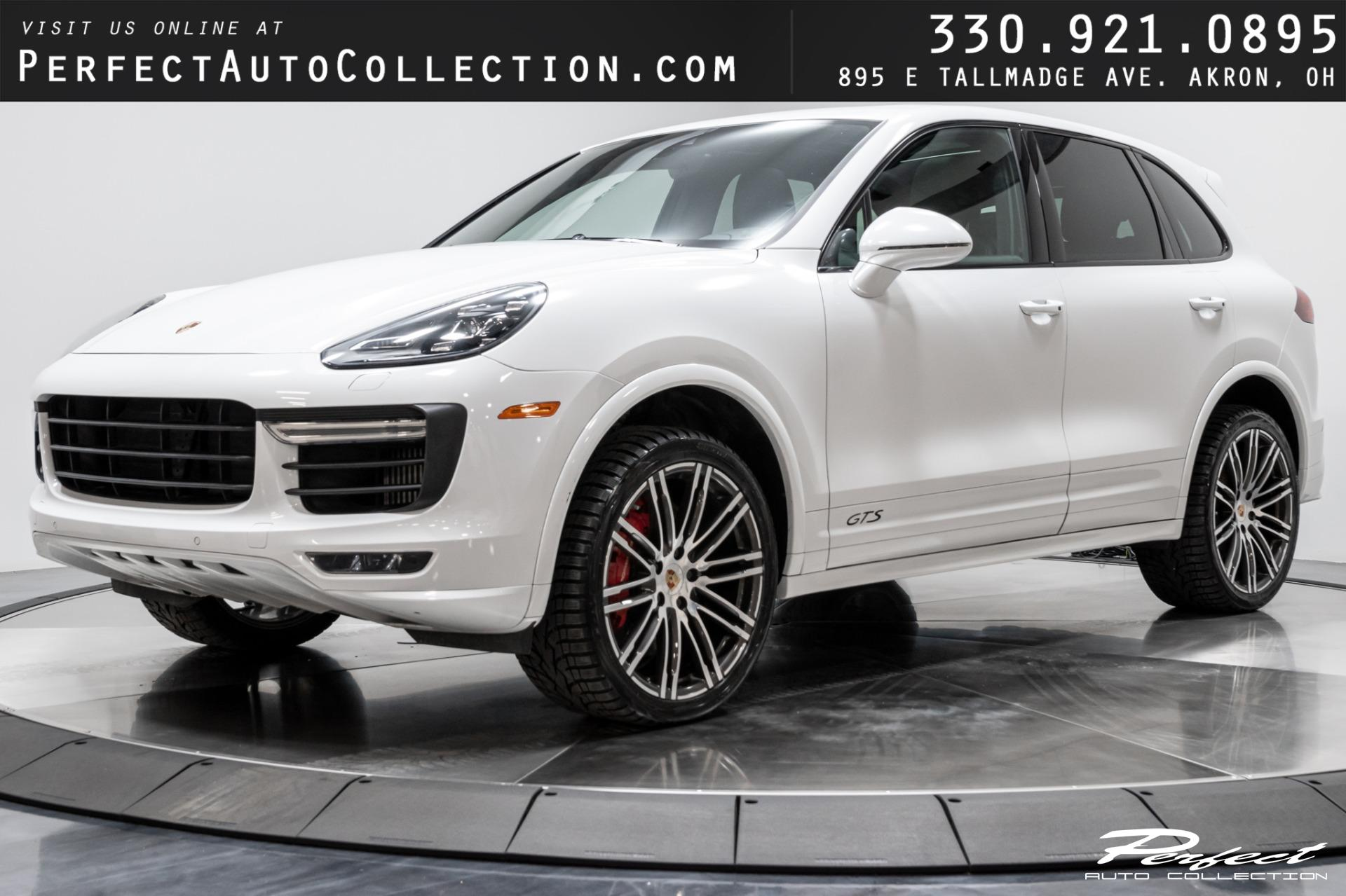 Used 2017 Porsche Cayenne GTS for sale $59,493 at Perfect Auto Collection in Akron OH 44310 1