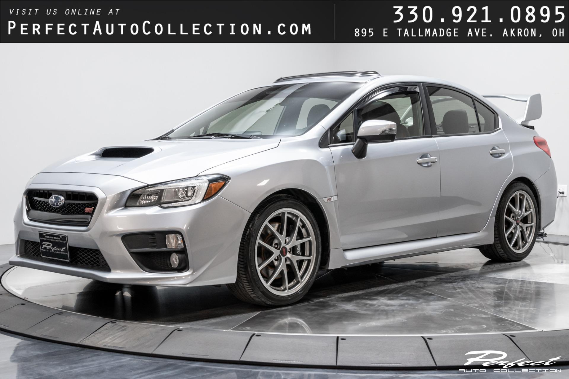 Used 2015 Subaru WRX STI Limited for sale Sold at Perfect Auto Collection in Akron OH 44310 1