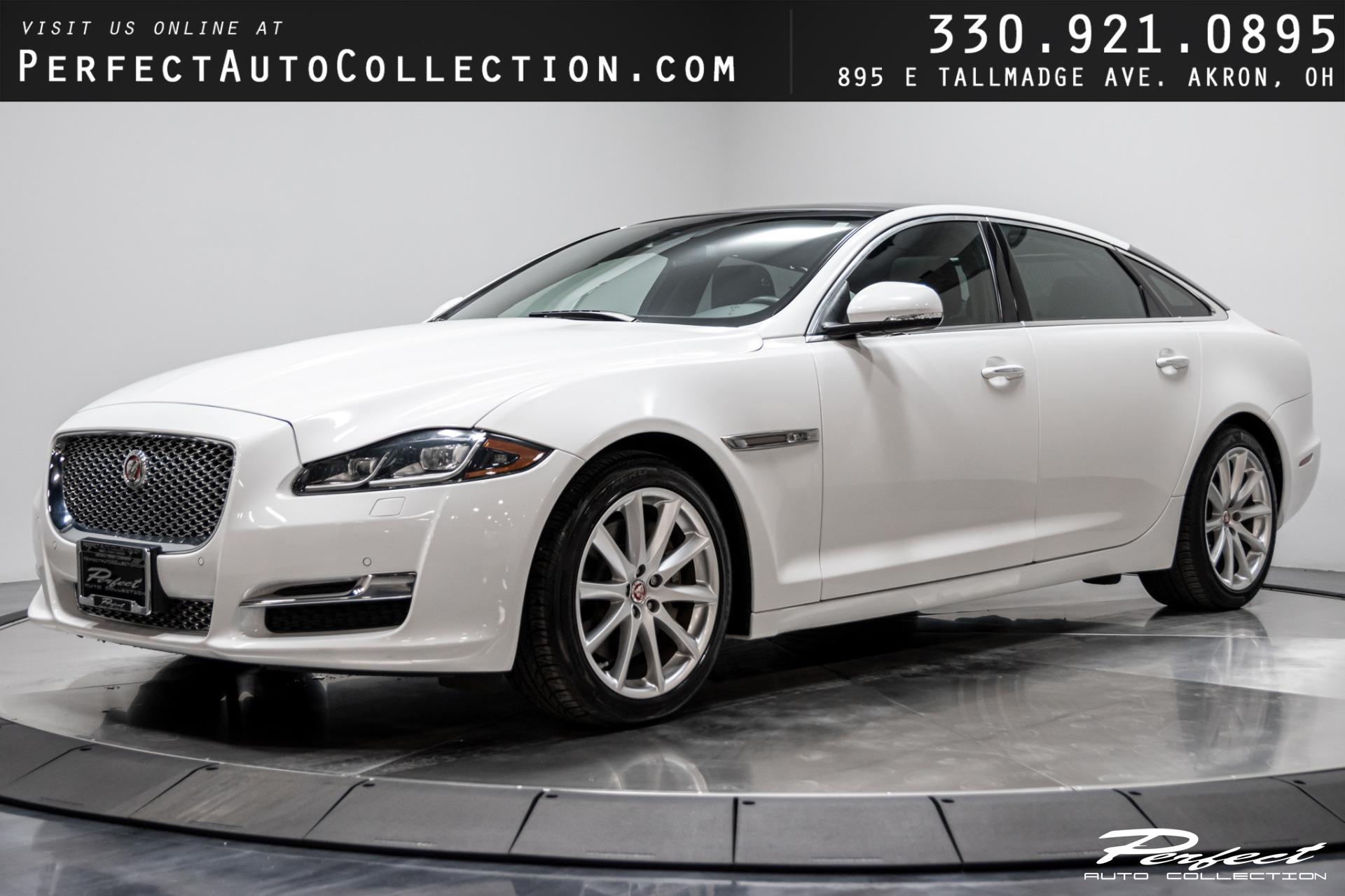 Used 2016 Jaguar XJL Portfolio for sale $36,993 at Perfect Auto Collection in Akron OH 44310 1