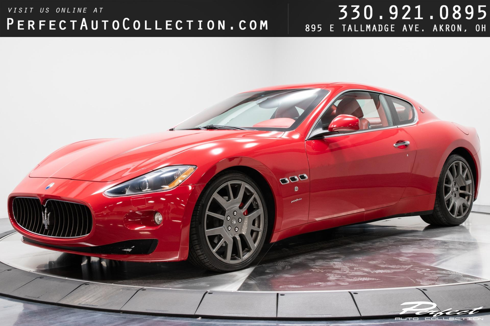 Used 2008 Maserati GranTurismo Base for sale $31,293 at Perfect Auto Collection in Akron OH 44310 1