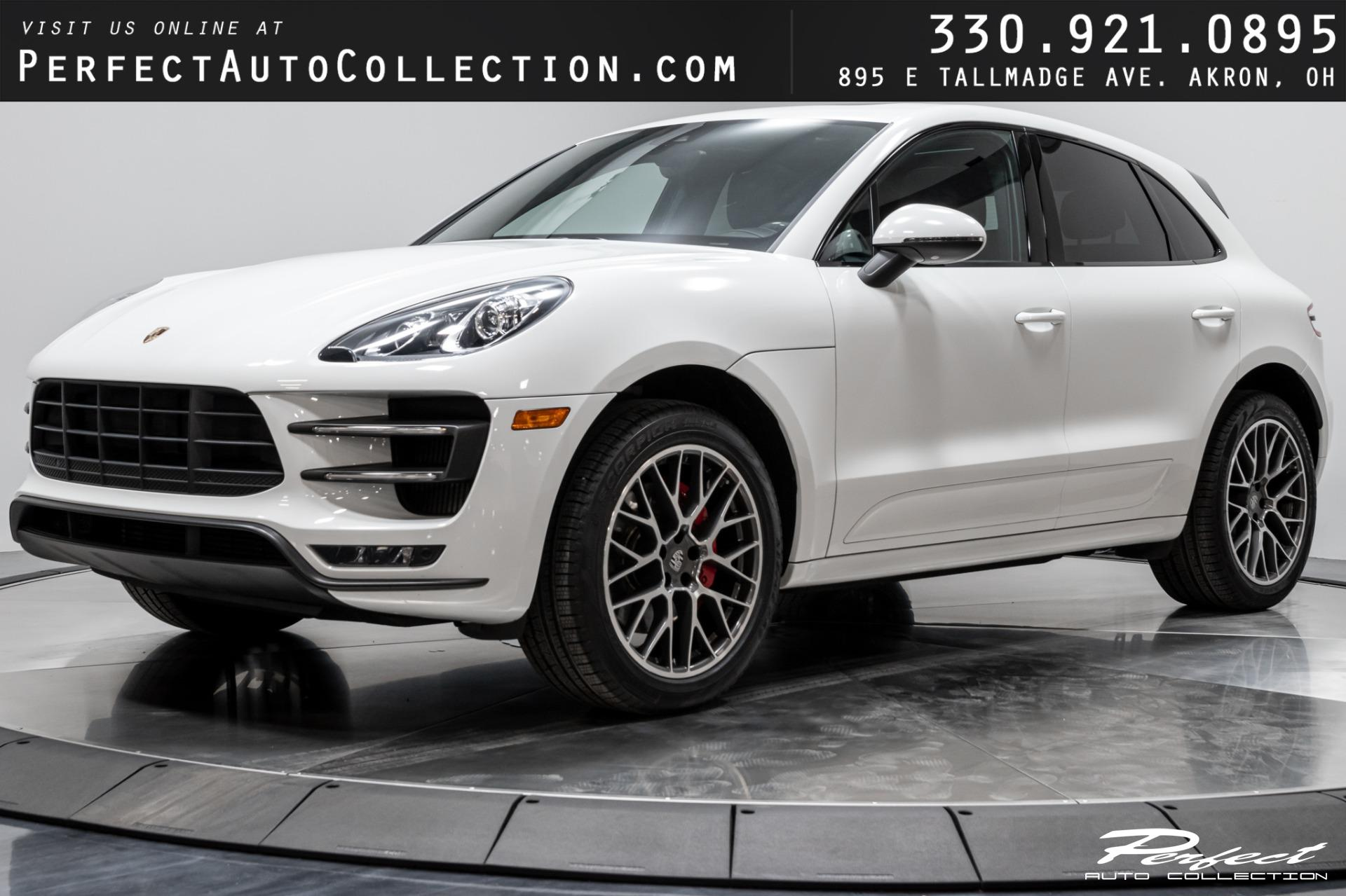 Used 2016 Porsche Macan Turbo for sale $49,495 at Perfect Auto Collection in Akron OH 44310 1