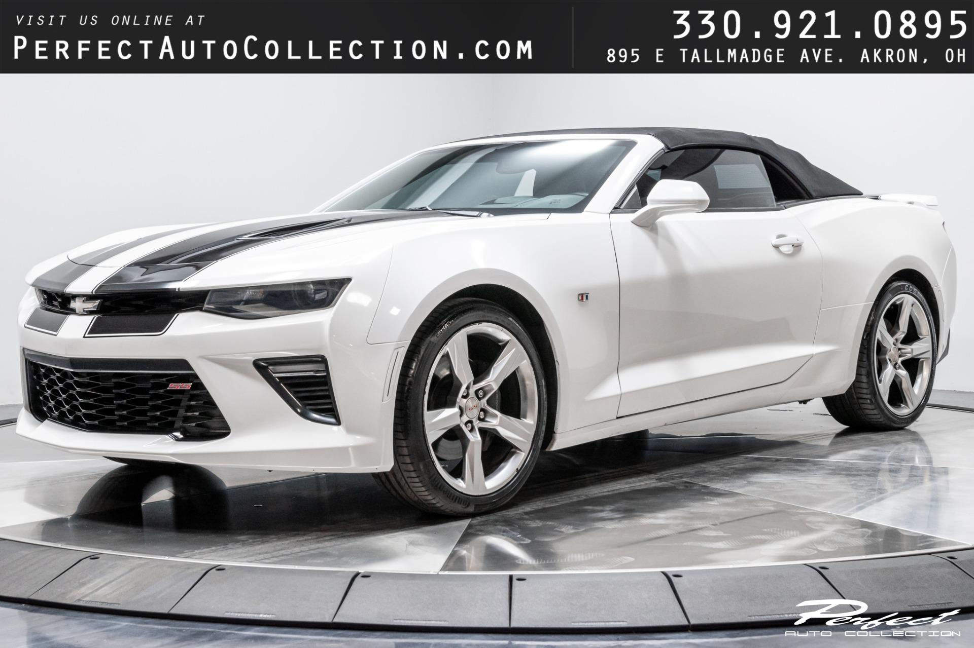 Used 2016 Chevrolet Camaro SS for sale Sold at Perfect Auto Collection in Akron OH 44310 1